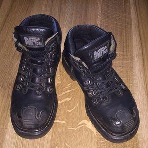 "Dr. ""Doc"" Martens Steel Toe Work Boots Combat"